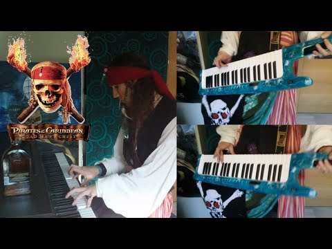 how to play pirates of the caribbean on piano slow