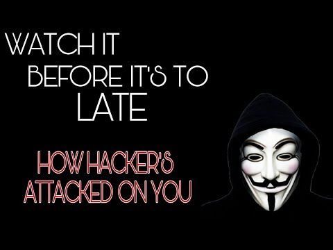 HOW HACKER'S ATTACKED ON YOU | WATCH IT BEFORE IT'S TO LATE | CYBER17 HINDI