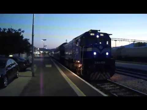 Night train B 1823 to Split