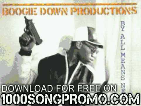 Download boogie down productions  - Stop the Violence - By All Means