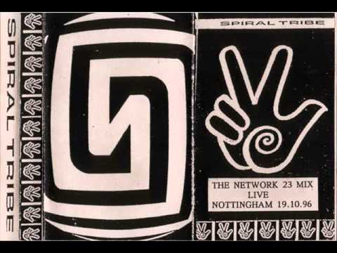 Spiral Tribe - Network 23 Mix - Live in Nottingham 19.10.1996 - Face A
