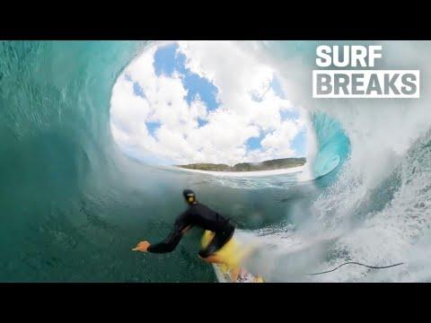 Pumping April PIPELINE Continues, GABRIEL MEDINA + ITALO Shredding At Home In Brasil - SURF BREAKS - 동영상