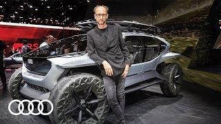 Visionäre Concept Cars mit Audi Chef Designer Marc Lichte | IAA 2019