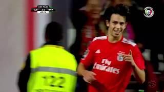 Goal | Golo João Félix: Benfica (3)-2 Rio Ave (Liga 18/19 #16)