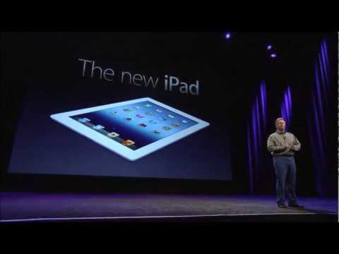 Apple Special Event 2012 - iPad 3rd Generation Introduction