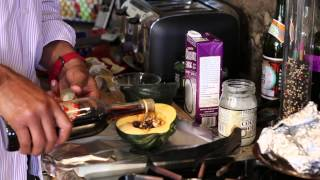 How To Make Acorn Squash Wrapped In Foil : Vegan & Healthy Recipes