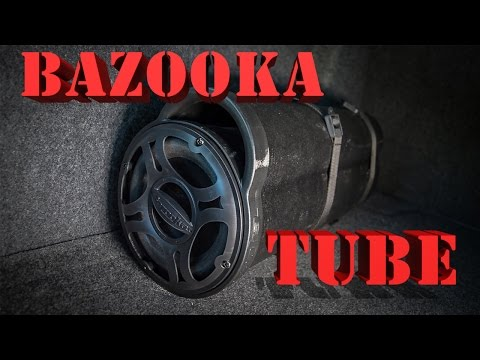 bazooka tube hook up