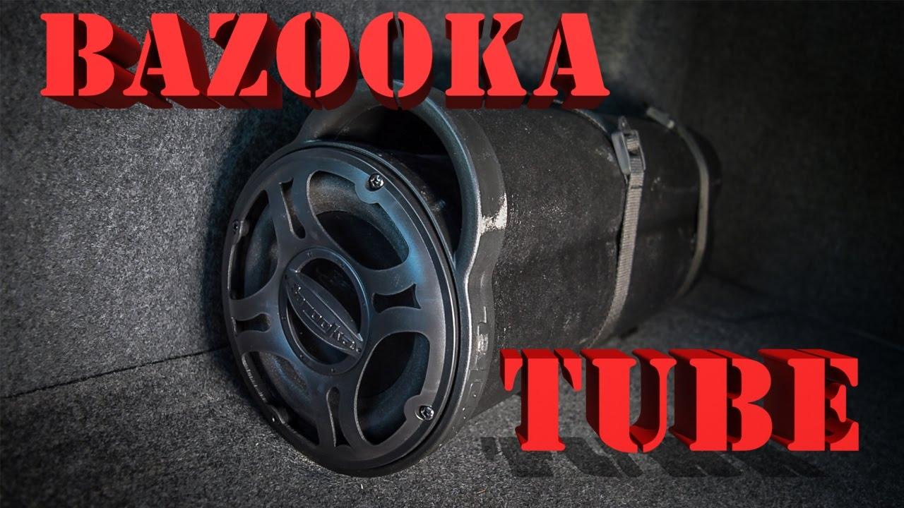 bazooka tube hook up