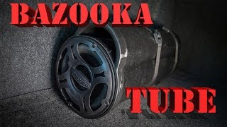 Bazooka Tube ( BTA6100) review and sound test - compact subwoofer