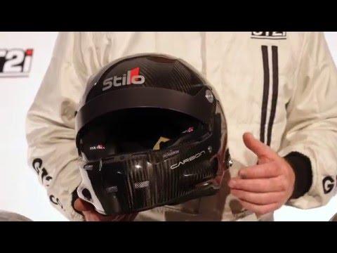 Casque STILO st5r Carbone FIA