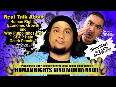 Why PULPOLITIKOS and CBCP Hate Death Penalty? - Mr. Riyoh feat Kuya Joel of FASDC1F