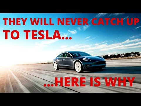 They will never catch up to Tesla - Here is why.