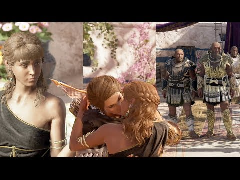 Kassandra Sleeps with Diona & Gets Ambushed Afterwards (By The Fates)  Assassin's Creed Odyssey