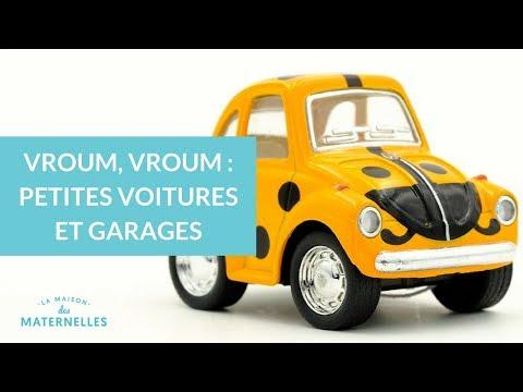 Vroum, vroum : petites voitures et garages