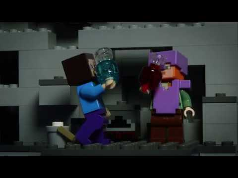 Ocean Monument - LEGO Minecraft - Stop Motion
