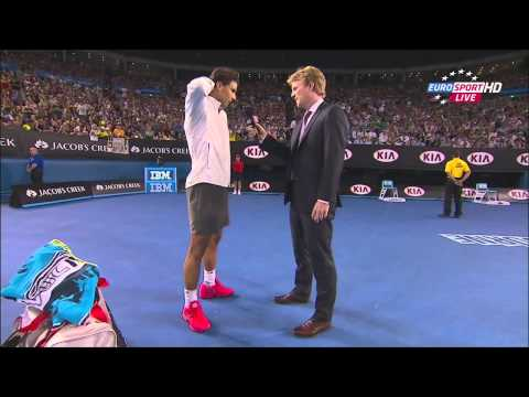 Nadal vs. Tomic, Australian Open 2014 highlights