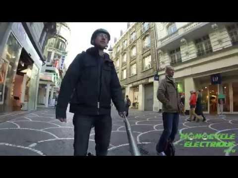 Balade en monocycle électrique à Lille (Electric unicycle ride in Lille France)
