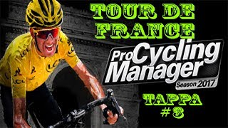 Pro Cycling Manager 2017 Gameplay ITA - Tour de France #2