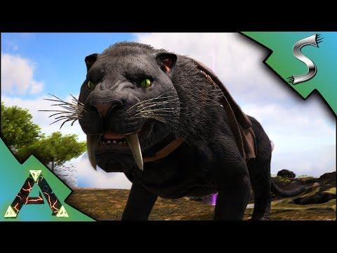 TAMING THE NEW SABERTOOTH! CRAZY LEVELS AND ANKYLO TAME!  Ark: RAGNAROK DLC Gameplay E17