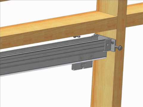 K.N. Crowder Type C Pocket Door Track and Hardware Installation Video