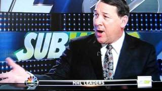 Repeat youtube video Mike Milbury calls Pierre McGuire a