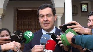 """Moreno afirma que el Presupuesto de 2020 dota de """"mucha estabilidad"""""""