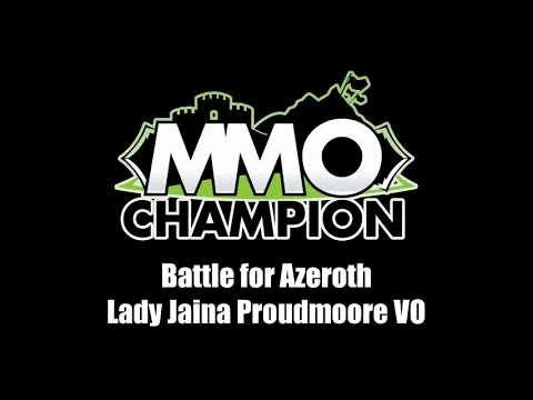 Patch 8.1.5 - Lady Jaina Proudmoore VO