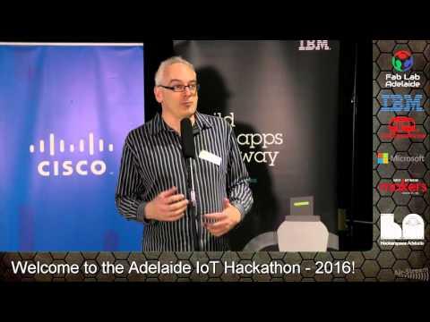 Adelaide IoT Hackathon - Launch Night