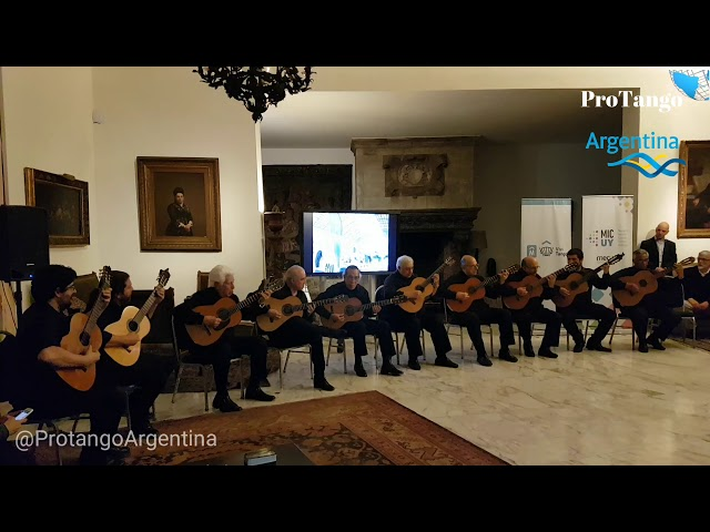 Excepcional ! Un arte musical. Linda milonga gaucha. Guitarras Uruguayas