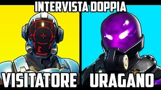WHO is IN REALTY URAGANO?! Incredible - Double Inconvenient Interview On Fortnite!