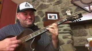 Darren Nicholson (Balsam Range) - Sorensen Big Dog Octave Mandolin