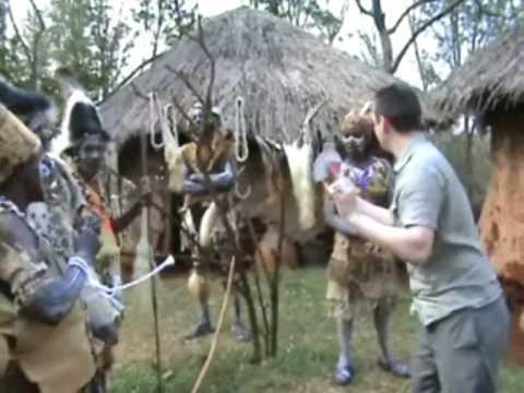 Magic for the Kikuyu tribe in Kenya
