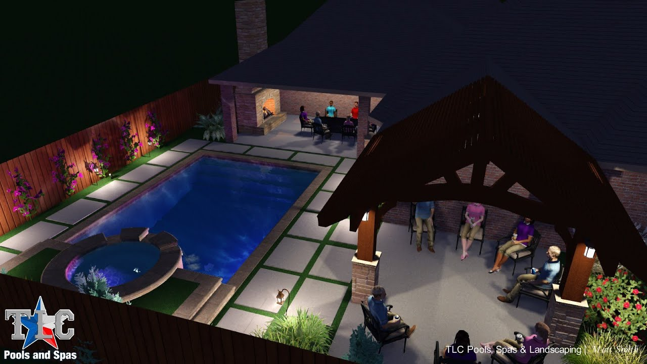 Pool And Spa Design For The Leighton Family
