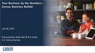 Your Business by the Numbers Census Business Builder
