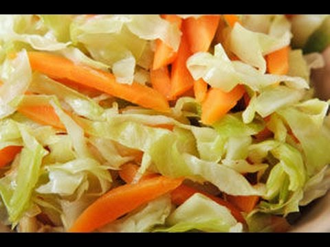 CARROT CABBAGE SLAW   QUICK RECIPES   RECIPES MADE EASY