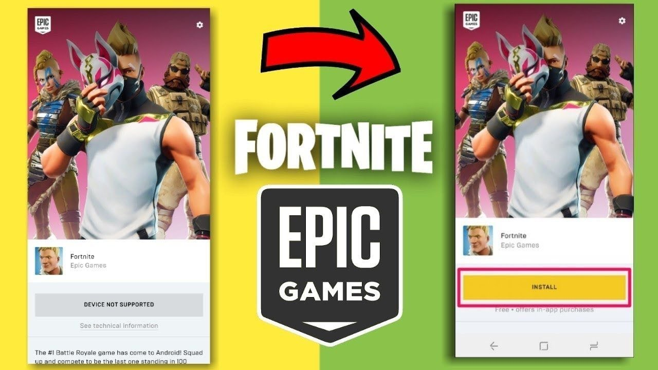 fortnite device not supported fix for android no root - fortnite game supported mobiles