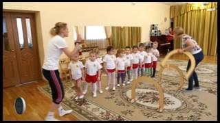 Занятие по физической культуре в подготовительной к школе группе