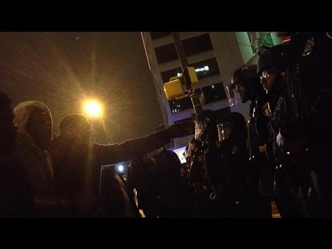 Baltimore Police radio the night of the Freddie Gray riots, 9 PM to midnight, April 25, 2015
