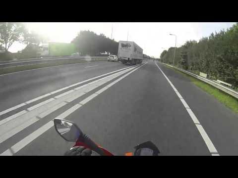 Motor Rijles 13 & Motor rijles 14 & AVD examen [A1] Motor Rijschool Karin Aalhuizen [GoPro Hero 3]