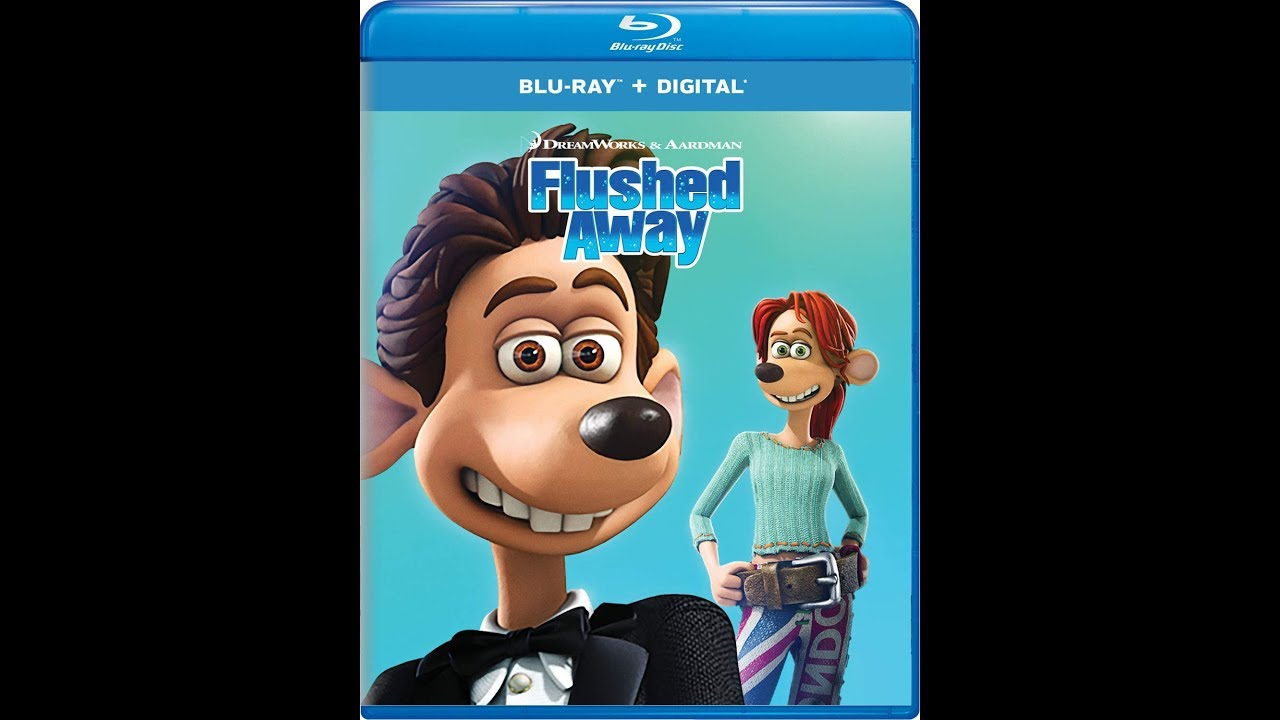 Download Flushed Away (2006) Blu-ray Unboxing