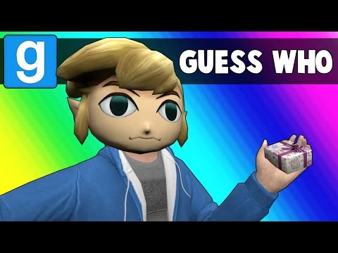 Thumbnail: Gmod Guess Who Funny Moments - Holidays Are Over! (Garry's Mod)
