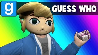 Gmod Guess Who Funny Moments - Holidays Are Over! (Garry