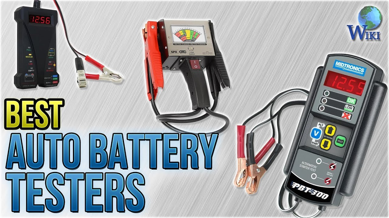 10 best auto battery testers 2018 youtube