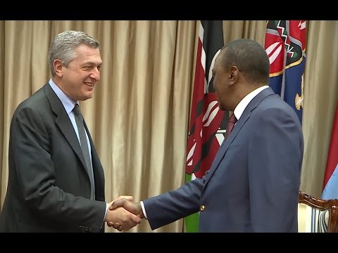 Kenya: UNHCR Chief Meets with Kenyan President