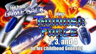 Joe plays Thunder Force 2, 3, and 4 on his Childhood Genesis