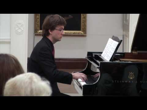 THREE-PAGE SONATA, BY CHARLES IVES (1874 - 1954), Ivan Bartel piano