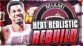 TRADING GORAN DRAGIC! HEAT REALISTIC REBUILD! NBA 2K18 2017 Video