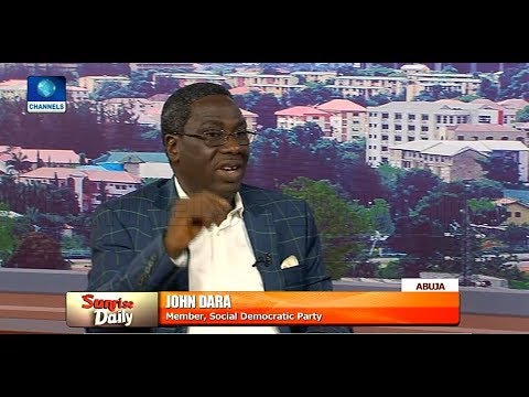 Final Authority For Election Timetable Is INEC - John Dara |Sunrise Daily|
