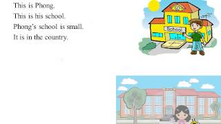 Tiếng Anh lớp 6 bài 4 Big or small - Part A Where is your school