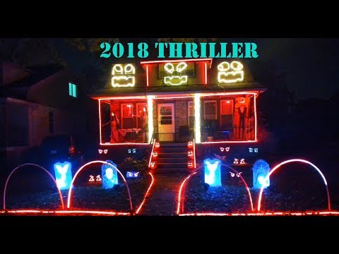Rich Kaminski - Halloween Light Show To Thriller